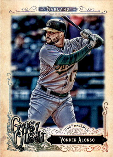 Photo of 2017 Topps Gypsy Queen #290 Yonder Alonso