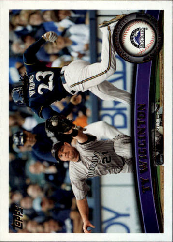 Photo of 2011 Topps Update #US2 Ty Wigginton
