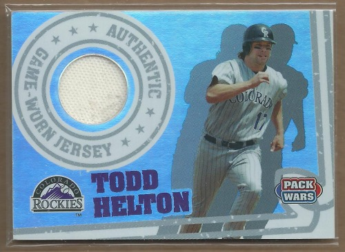Photo of 2005 Topps Pack Wars Relics #TH Todd Helton Jsy B