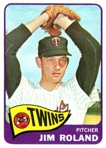 Photo of 1965 Topps #171 Jim Roland