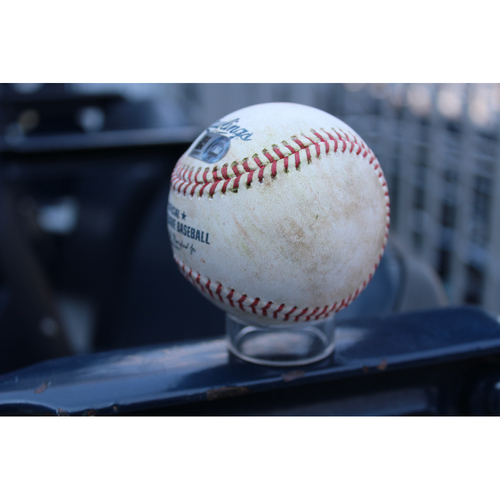 Photo of Game-Used Baseball: Robbie Grossman 4th Career Triple, 336th Career Hit, & 139th Career RBI (MIN at KC - 9/8/17)