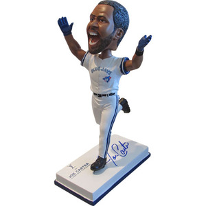 Joe Carter Autographed Limited-Edition Bobblehead #177/1993