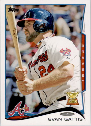 Photo of 2014 Topps #464 Evan Gattis
