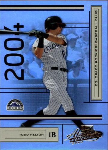 Photo of 2004 Absolute Memorabilia #67 Todd Helton