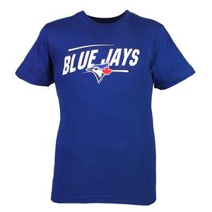 Toronto Blue Jays Slant T-Shirt Royal by Bulletin
