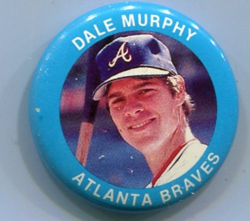 Photo of 1984 Fun Foods Pins #103 Dale Murphy