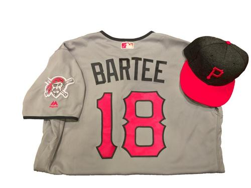 Photo of Kimera Bartee Game-Used Mother's Day Jersey and Hat