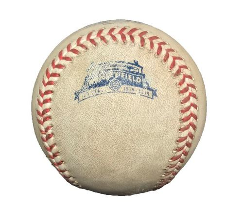 Photo of Game-Used Baseball from Pirates vs. Cubs on 6/22/14