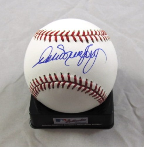 Photo of Dale Murphy Autographed Official Major League Baseball