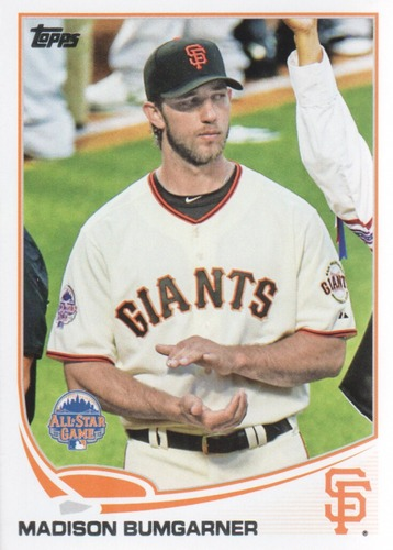 Photo of 2013 Topps Update #US249 Madison Bumgarner