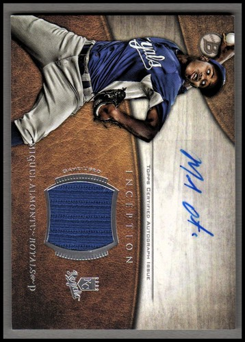 Photo of 2014 Bowman Inception Relic Autographs #ARMA Miguel Almonte