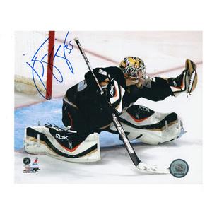 J. S. GIGUERE Signed Anaheim Ducks 8 X 10 Photo - 70207