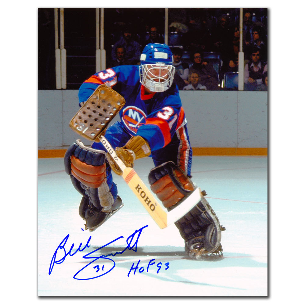 Billy Smith New York Islanders Autographed 8x10