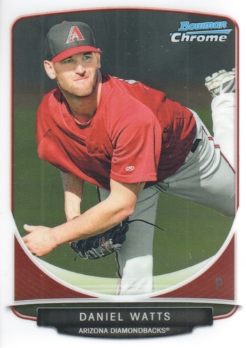 Photo of 2013 Bowman Chrome Prospects #BCP111 Daniel Watts