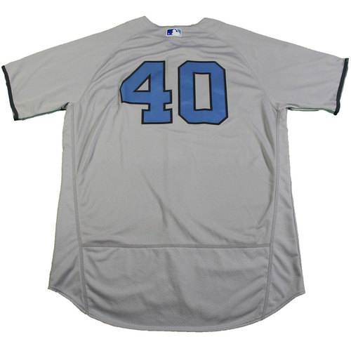 Luis Severino New York Yankees Game-Used #40 Father's Day Jersey and Cap Set (6/18/2017)
