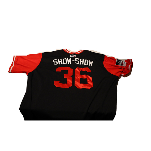 "Photo of Sammy ""Show-Show"" Solis Washington Nationals Game-Used Players Weekend Jersey"