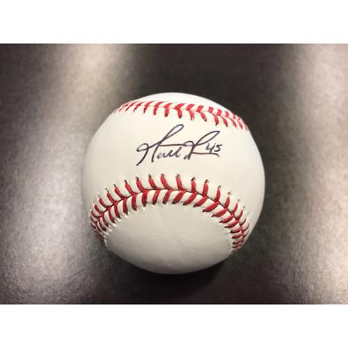 Giants Community Fund: Matt Moore Autographed Baseball