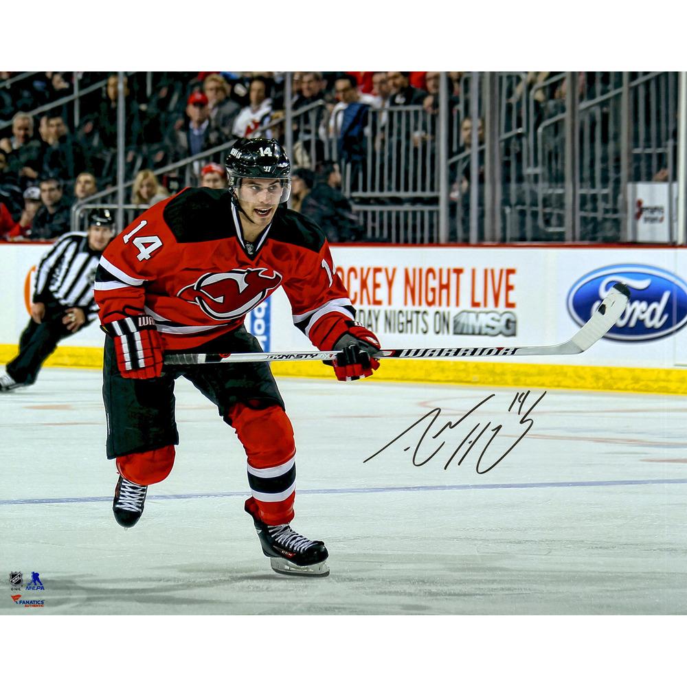Adam Henrique New Jersey Devils Autographed 16