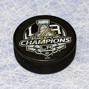 Tanner Pearson Los Angles Kings Autographed 2014 Stanley Cup Hockey Puck