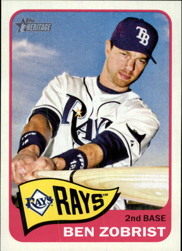 Photo of 2014 Topps Heritage #316 Ben Zobrist