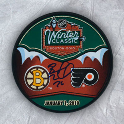 BLAKE WHEELER 2010 Boston Winter Classic SIGNED Puck