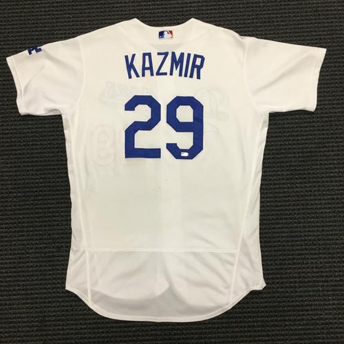 Photo of LA Dodgers Foundation Auction: Scott Kazmir Game-Used LA Dodger Jersey
