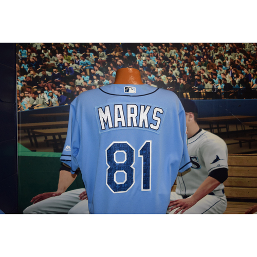 Photo of Team-Issued Spring Training Jersey: Justin Marks