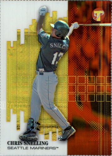Photo of 2002 Topps Pristine Gold Refractors #194 Chris Snelling U