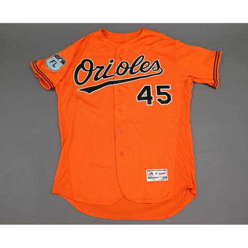 Photo of Mike Wright - 2017 Spring Training Jersey: Game-Used