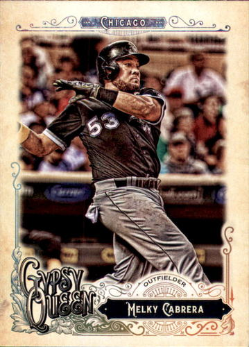 Photo of 2017 Topps Gypsy Queen #294 Melky Cabrera