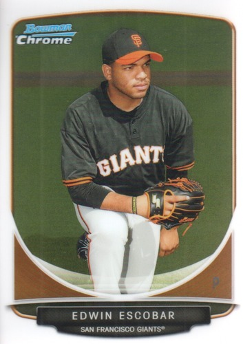 Photo of 2013 Bowman Chrome Prospects #BCP117 Edwin Escobar