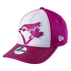 Youth Shimmer Shine White/Pink Adjustable Cap by New Era