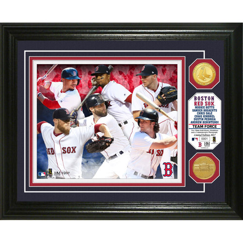 "Photo of Serial #1! Boston Red Sox ""Team Force"" Bronze Coin Photo Mint"