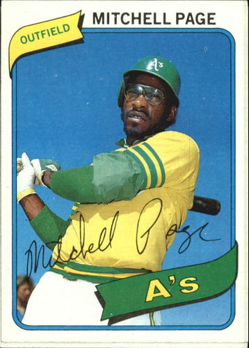 Photo of 1980 Topps #586 Mitchell Page