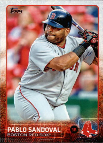 Photo of 2015 Topps #650 Pablo Sandoval