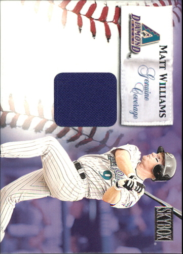Photo of 2000 SkyBox Genuine Coverage #10 Matt Williams HR