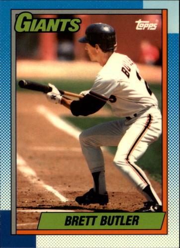 Photo of 1990 Topps Tiffany #571 Brett Butler