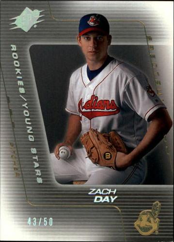 Photo of 2001 SPx Spectrum #93 Zach Day