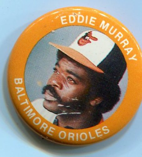 Photo of 1984 Fun Foods Pins #119 Eddie Murray