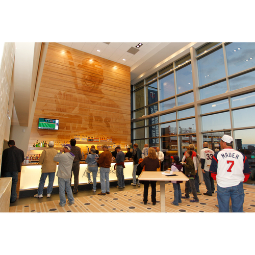 Target Field Kirby Puckett Feature Wood Wall - Laser Engraved - PICK-UP ONLY