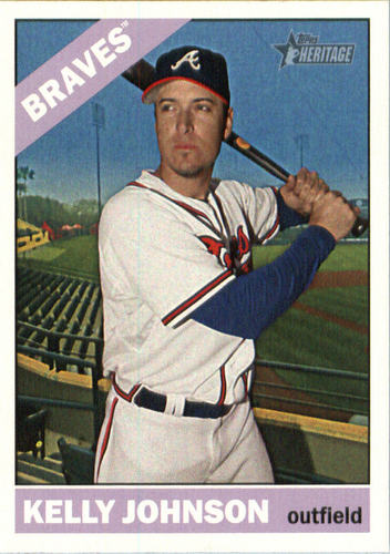 Photo of 2015 Topps Heritage #625 Kelly Johnson
