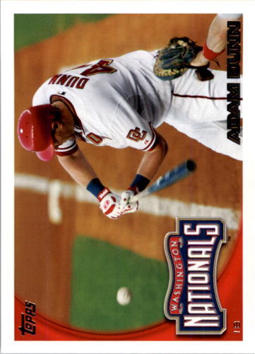 Photo of 2010 Topps #294A Adam Dunn