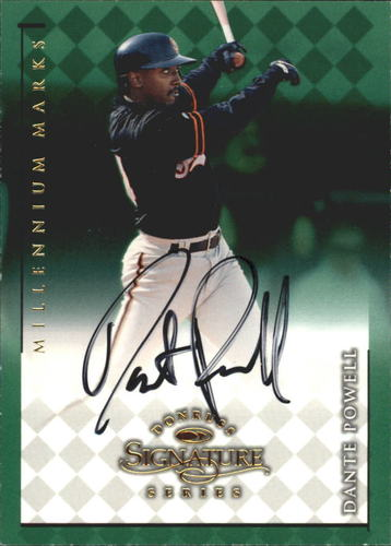 Photo of 1998 Donruss Signature Autographs Millennium #93 Dante Powell/950*