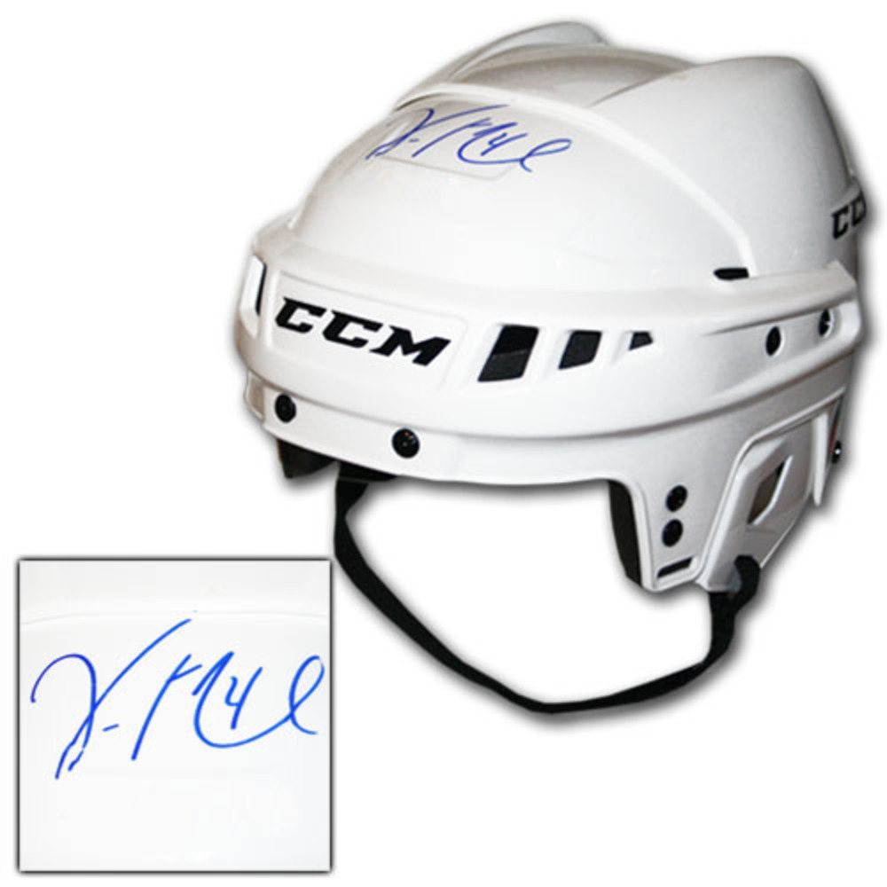 Vincent Lecavalier Autographed CCM Hockey Helmet (Los Angeles Kings)