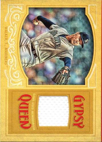 Photo of 2016 Topps Gypsy Queen Relics Gold #GQRTW Taijuan Walker