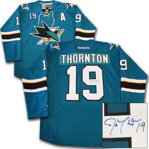 Joe Thornton Autographed San Jose Sharks Jersey