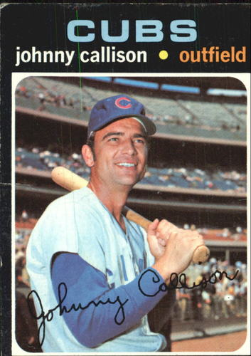 Photo of 1971 Topps #12 Johnny Callison