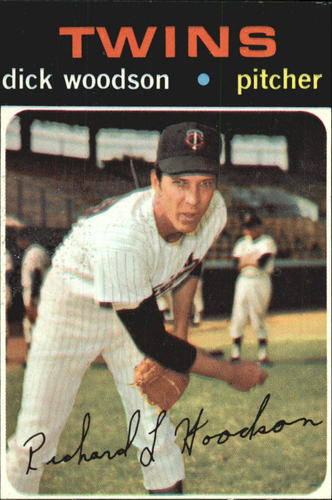 Photo of 1971 Topps #586 Dick Woodson