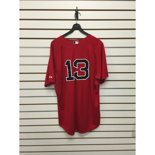 Photo of Hanley Ramirez Game-Used 2015 Home Alternate Jersey