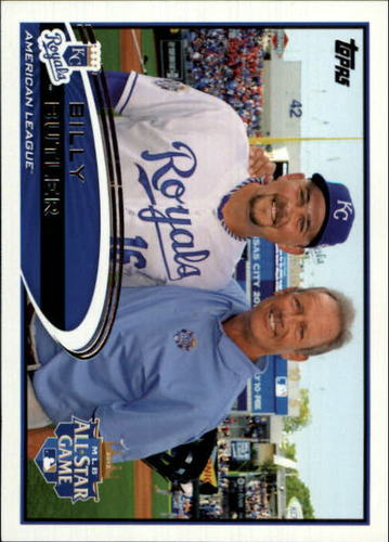 Photo of 2012 Topps Update #US37B Billy Butler/With George Brett SP